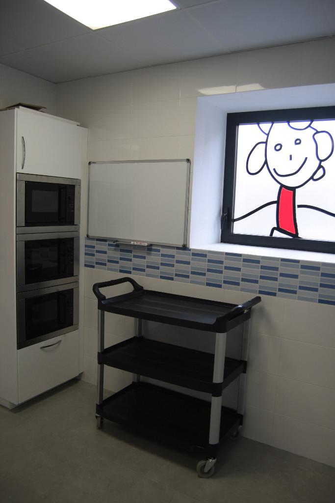 Detalle interior cocina guardería txanogorritxu Ansio-BEC