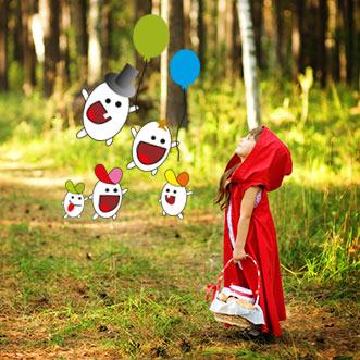 txanogorritxu franchise nursery - Little Red Riding Hood