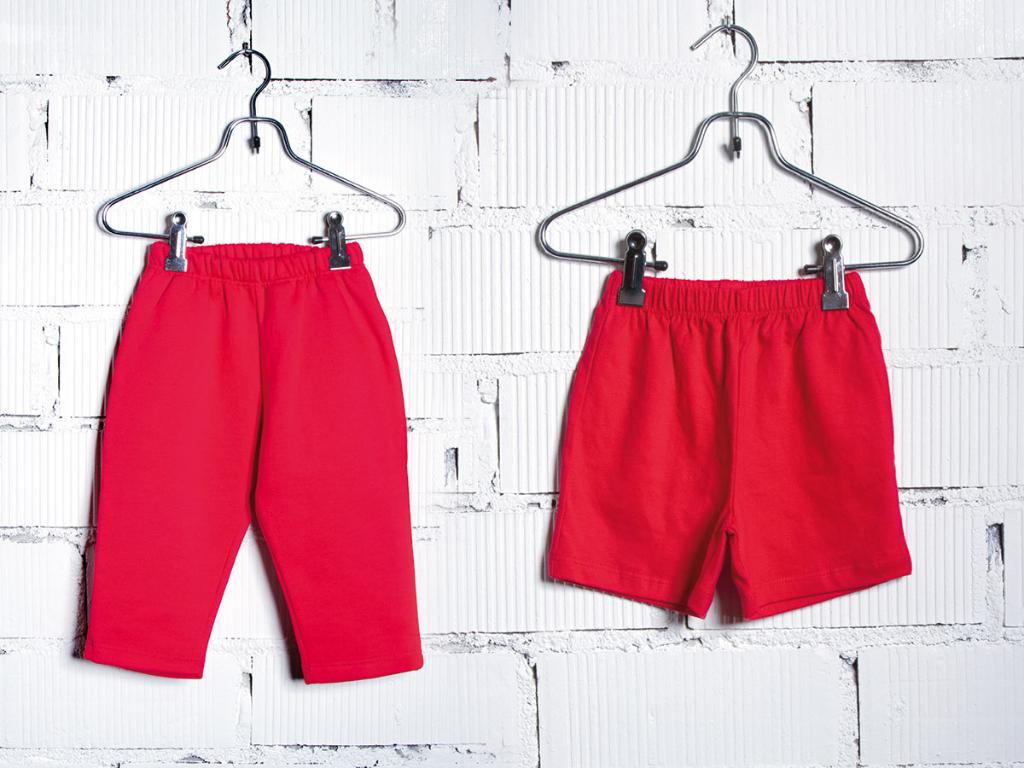 trousers baby nursery uniform txanogorritxu