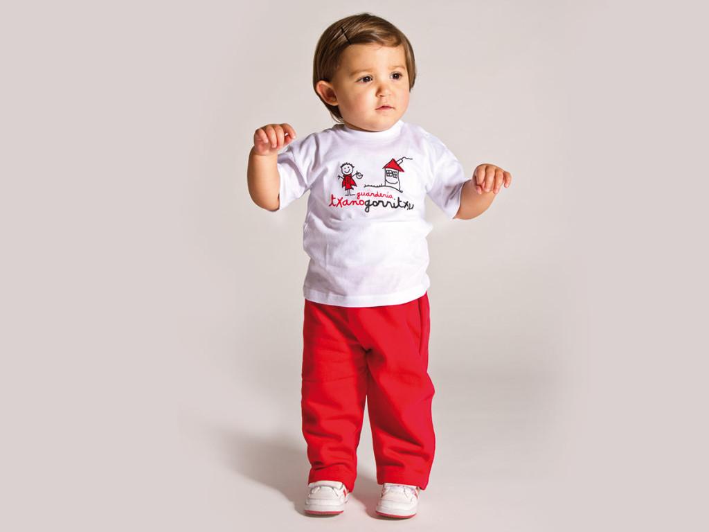 baby nursery uniform txanogorritxu