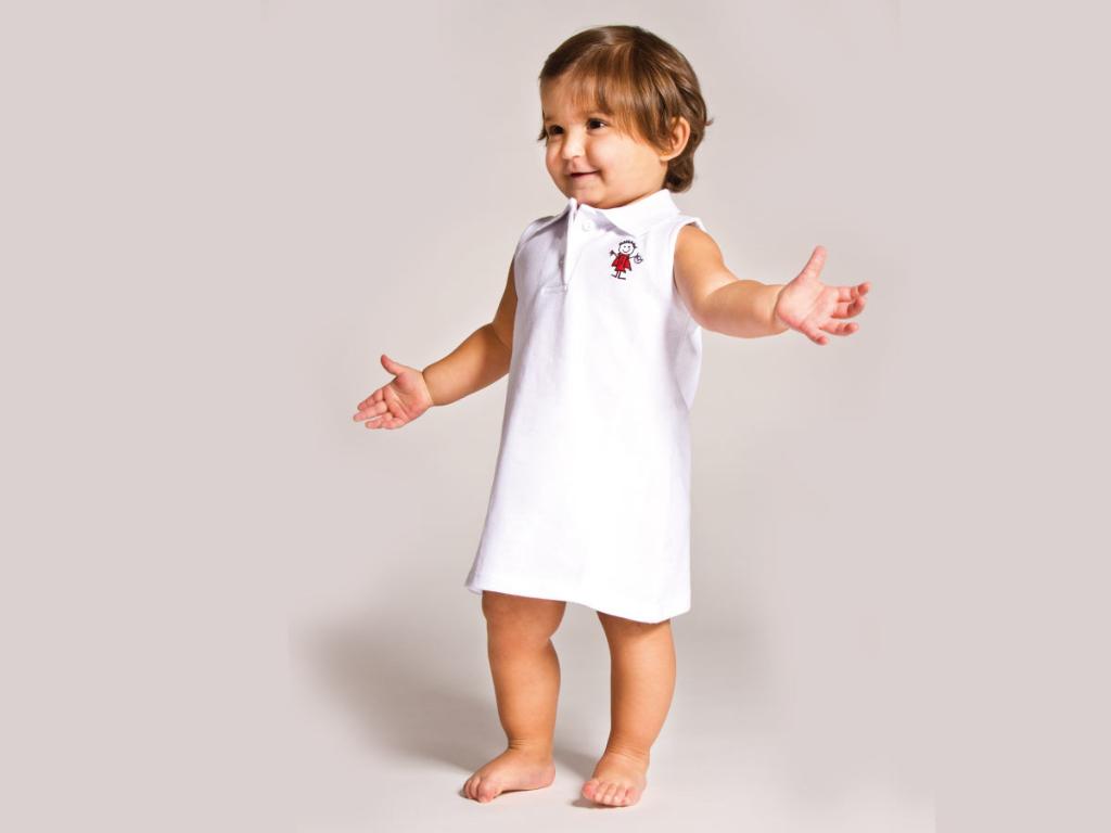 dress baby nursery uniform txanogorritxu